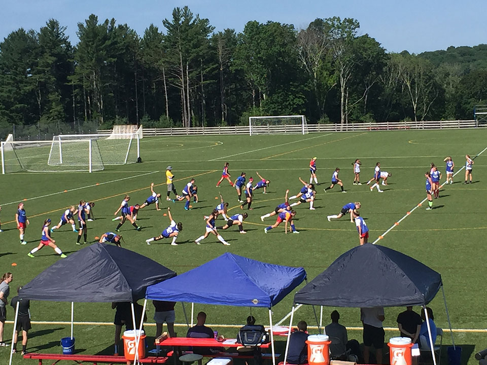 Middle Georgia State University Girls Soccer Camp Gallery